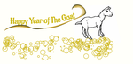 Happy Year of the Goat by Mairelyn