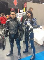 Mass Effect Cosplay by QuackersQ
