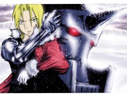 Fullmetal Brothers by SOFA-KING-AWESOME