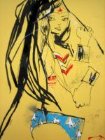 Wonder Woman by JimMahfood-FoodOne