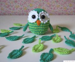 Little garden owl by BetweenAsleepAndWake