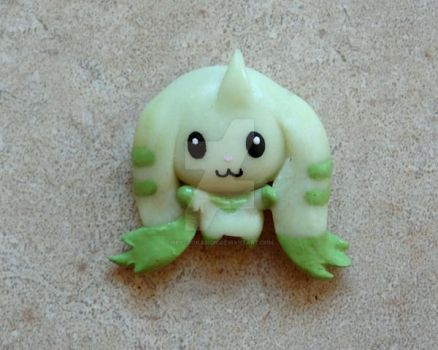 Terriermon Magnet Pin by HeyLookASign