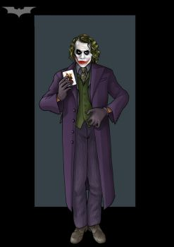 the joker  -  commission by nightwing1975