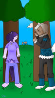 Noah 's Hunting Lesson *Phooma12345 Contest Entry* by MelloChello195