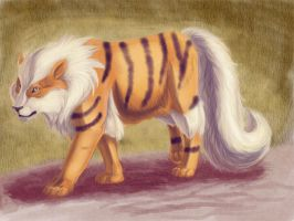 Old - Arcanine by recycled-batteries