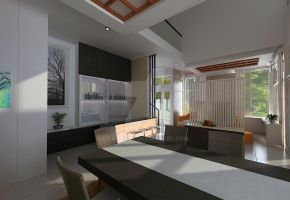 Green Cove BSD interior_dining and bar 01 by vaD-Endz