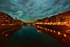 Florence by night by Witoldhippie