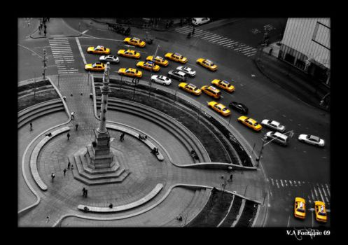 Yellow Cabs by VaL-Anne
