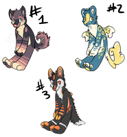 Adoptable AUCTION batch 1 (all adopted) by Deisk