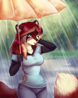 Rainy day by Imanika