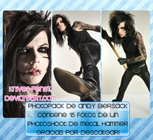 +Andy Biersack Photopack. by Knives-PensT