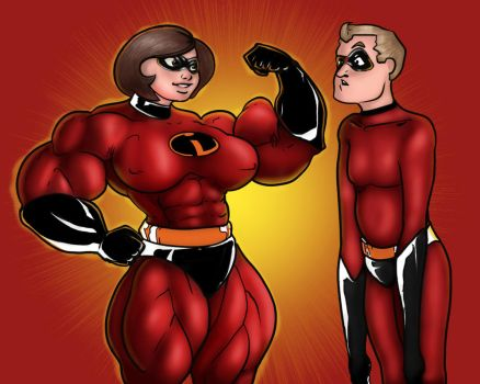 The Incredibles - color by cactusjoe999