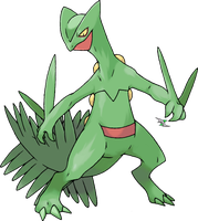 Sceptile by Xous54