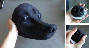 K9 Mask FOR SALE by LimitlessEndeavours