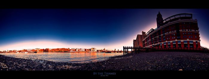 By the Thames by geckokid