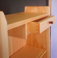 DrawerDetail cabinet in Pine by cocobolo