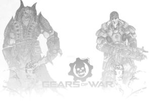 Gears of War by Lumit