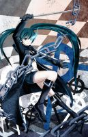 Black Rock Shooter by Illycia