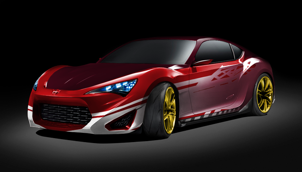 color FRS Knockout concept by Laserbot