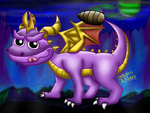 Spyro by DragonRichard