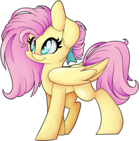 Flutters new hair cut by CutePencilCase
