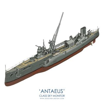 'Antaeus' Class Sky Monitor by MikeDoscher
