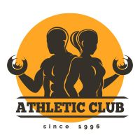 Athletic club logo vector by FreeIconsdownload