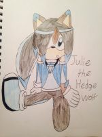 Julie the hedgewolf by emerswell