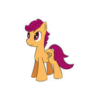 Scootaloo by ExplainableChaos