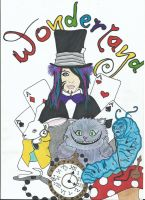 Dahvie In Wonderland by ally6sixx