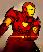 Iron Man Extremis by nicollearl