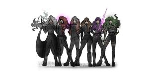 X-WOMEN by gerardoelessar