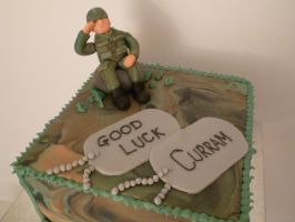 Good luck, Soldier by Rebeckington