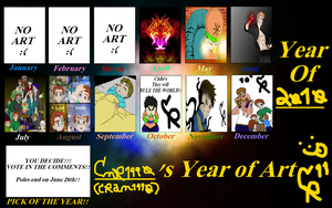 CMR1990s Year of art 2010 by cmr-1990