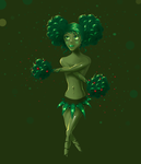 wooded cheerleader by MixedMilkChOcOlate