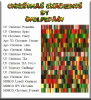 Wolfepaw Christmas 2013 Gradient Pack by wolfepaw