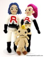 Pokemon: Team Rocket by leftandrightdolls