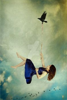 Hanging From Thread by jearvi