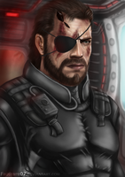 Metal Gear Solid: Big Boss by Frostbite07