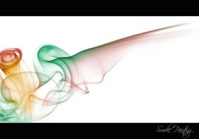 Smoke Painting I by momoclax