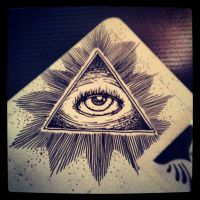 Third eye doodle by ch1pm0nk