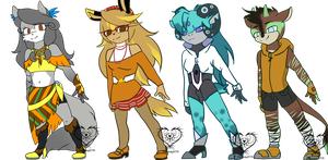 #1 redesigns by Sanddy273