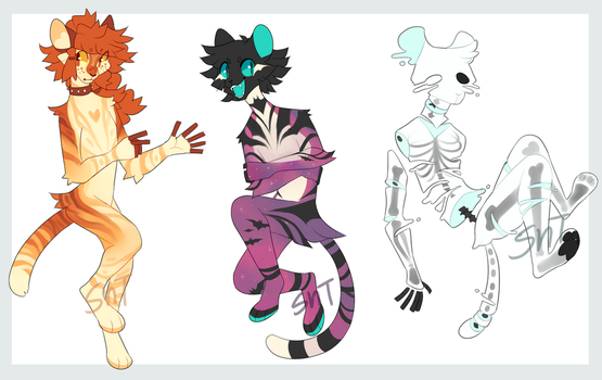 Spooky Tiger Auction+OTA [CLOSED] by Sweet-n-treat