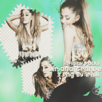 Ariana Grande PNG Pack by ZozeBo