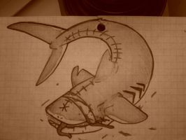 deaeth shark noms your face by StitchesX0