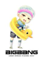 G-Dragon CRAYON CHIBI DUCK VER 3 by candystar2008
