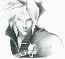 Cloud Strife by Skissored