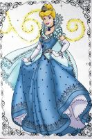 Pumpkin Princess Cinderella by heresjoc