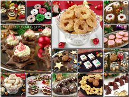 Selection of Christmas cookies by PaSt1978