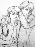 Gabriel and Ethan by irishgirl982